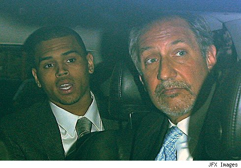 Chris Brown going to court, Courtesy of TMZ
