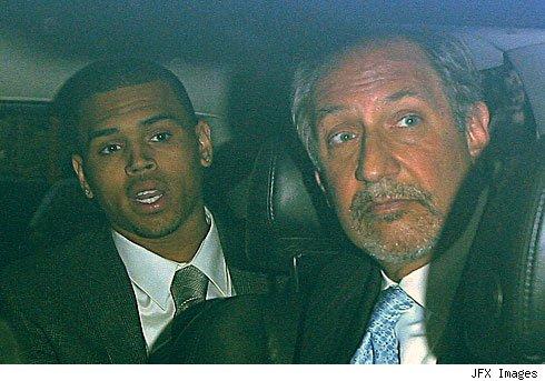 Chris Brown going to court, Courtesy of TMZ