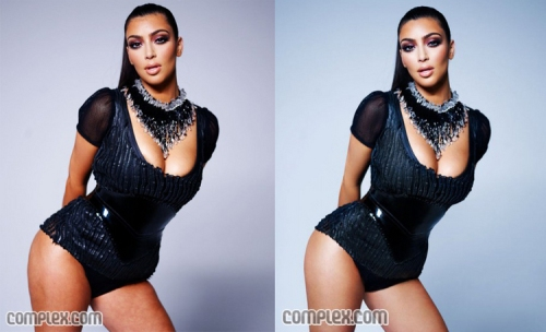 Kardashian's images from Complex Magazine, Courtesy of her personal blog